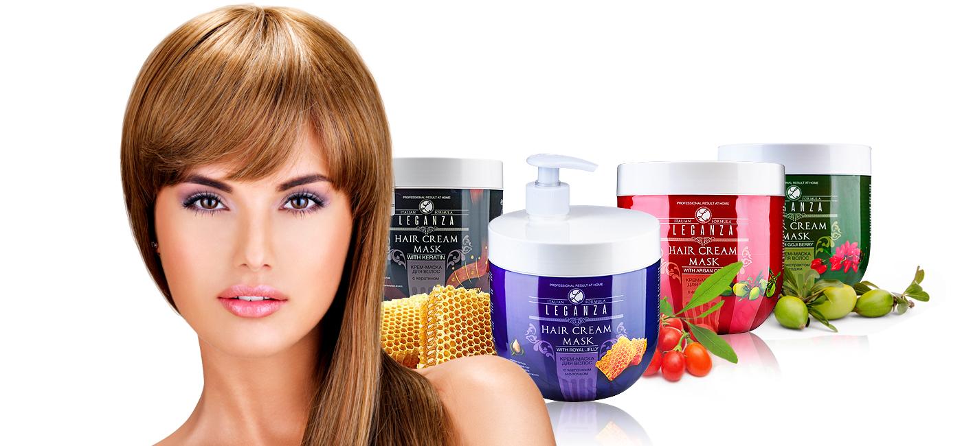 Маски за коса LEGANZA - Козметична компания Роза импекс