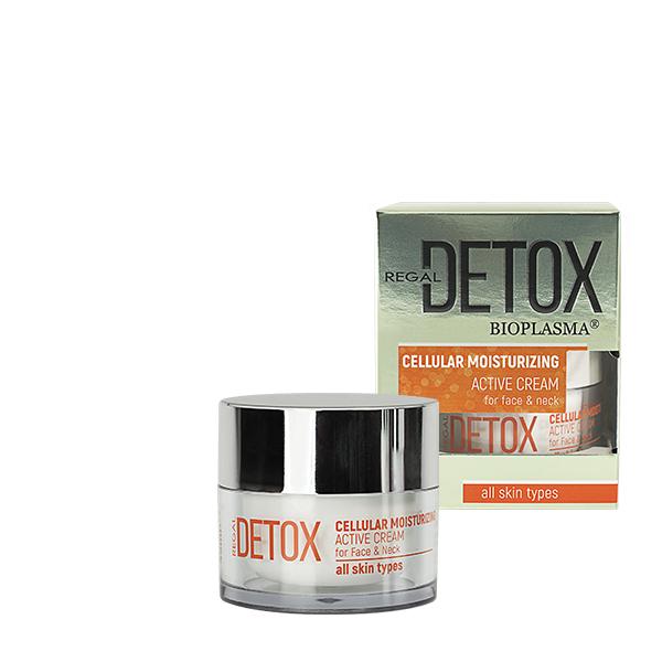 Козметична серия REGAL Detox с BIOPLASMA® и активен въглен..