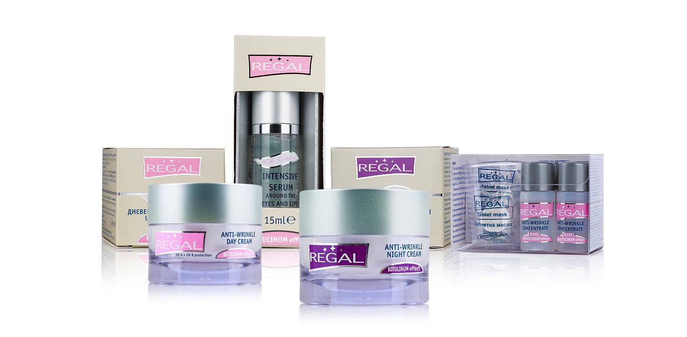 REGAL AGE CONTROL - Козметична компания Роза импекс